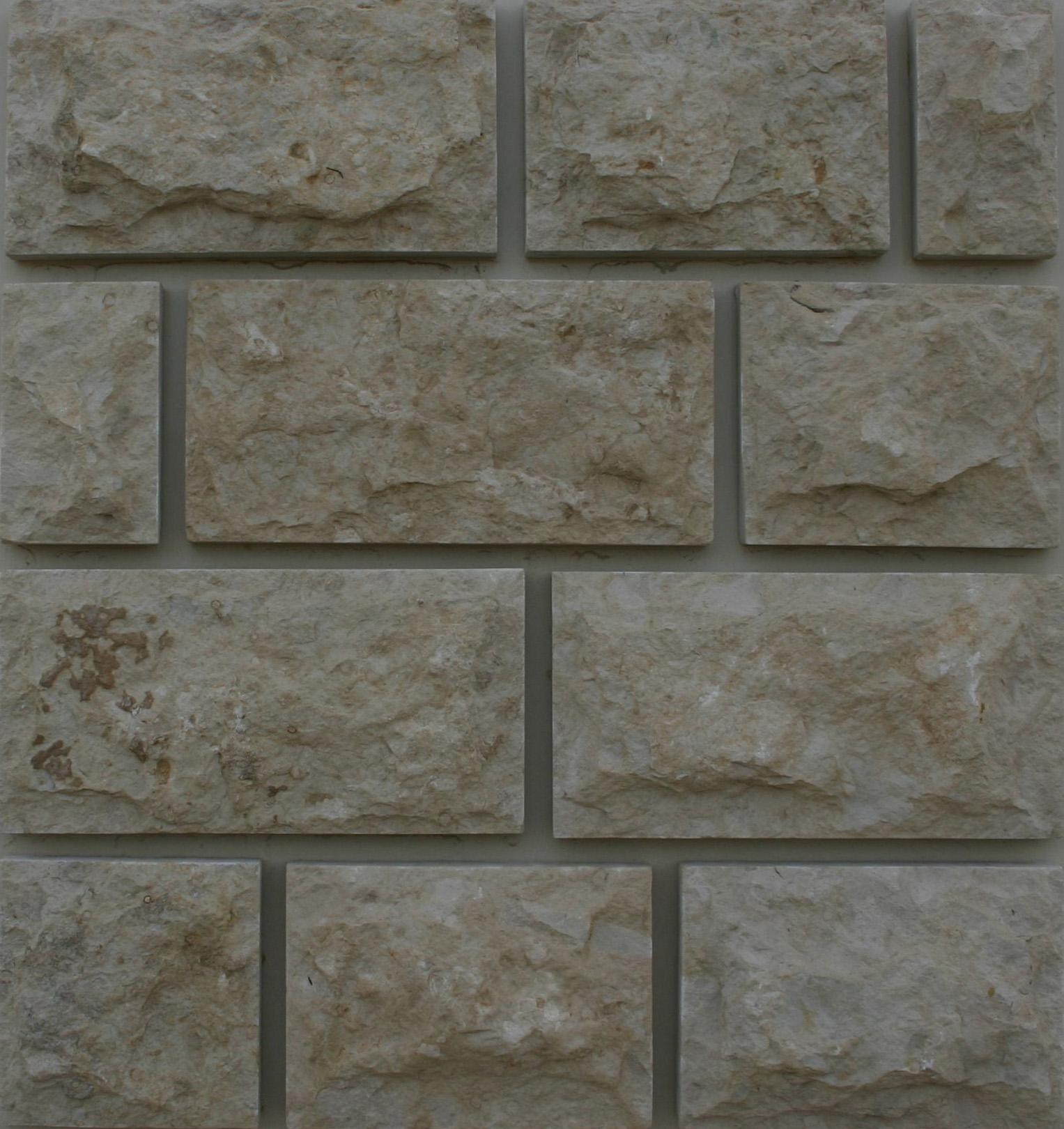 Известняк серый пятисторонней обработки со сколом - добыча и продажа природного камня